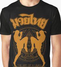 Muay Thai Garuda Fighter Graphic T-Shirt