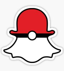 Poké Ball Snapchat Logo Sticker