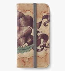 Woman With Flower iPhone Wallet/Case/Skin