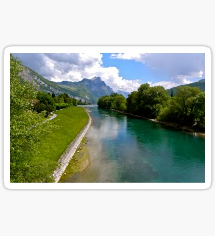 River Linth Sticker