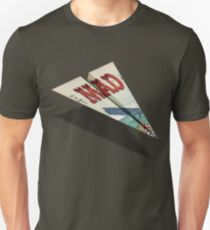 161 MAD Paper Airplane Unisex T-Shirt
