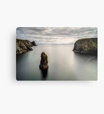 Glencolmcille sea stacks Metal Print