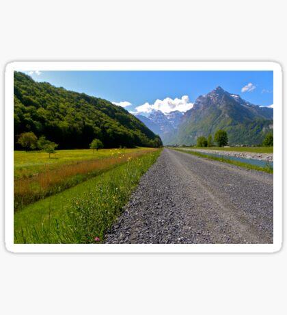Pathway to Glarus Sticker