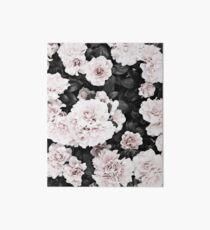 Flowers print, Scandinavian, Roses, Fashion print, Scandinavian art, Modern art, Wall art, Print, Minimalistic, Modern Art Board