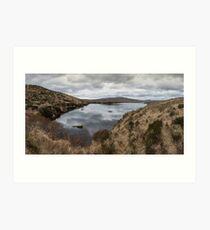 Donegal lake Art Print