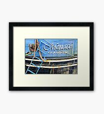 Monaco Glasgow - Fishing Boat in Stornoway Framed Print