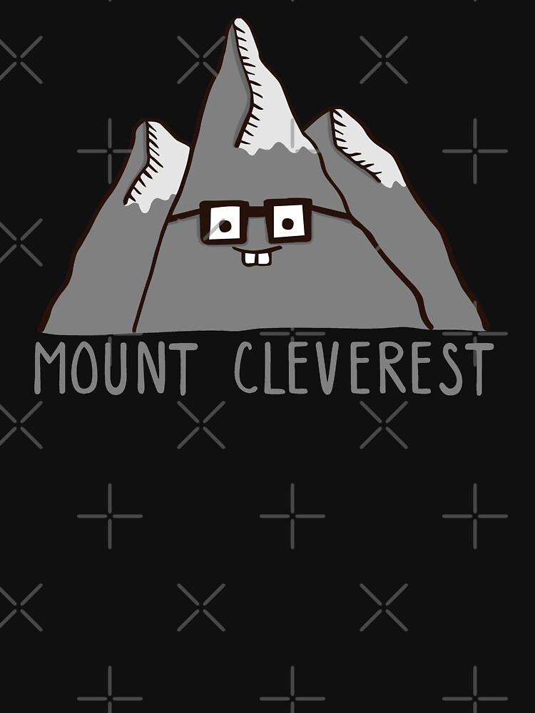 Nerd Mount Cleverest | Unisex T-Shirt