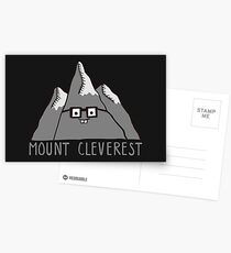 Postales Nerd Mount Cleverest