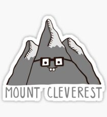 Nerd Mount Cleverest Sticker