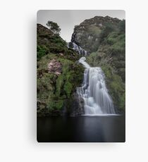 Assaranca Waterfall, Ardara Metal Print