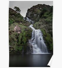 Assaranca Waterfall, Ardara Poster