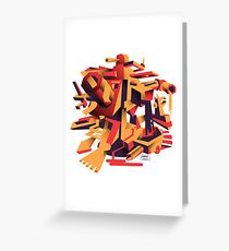 Rorzle—Shapes 1 Greeting Card