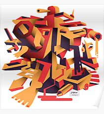 Rorzle—Shapes 1 Poster
