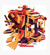 Rorzle—Shapes 1 Photographic Print