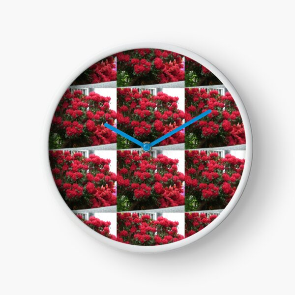 Rhododendron Clock