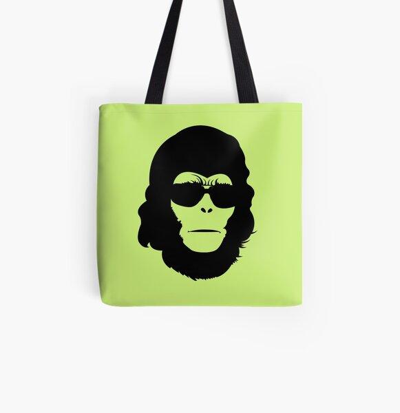 Rad Rod Head All Over Print Tote Bag
