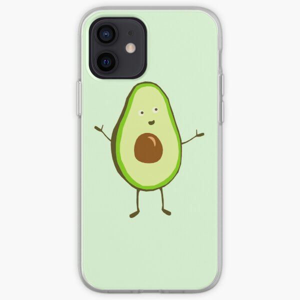Mr Avocado iPhone Soft Case