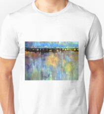 Causeway with Moon Rising Unisex T-Shirt
