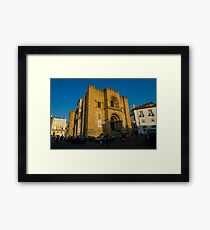 Old Cathedral, Coimbra, Portugal Framed Print