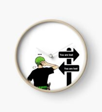 One Piece Roronoa Zoro  Clock