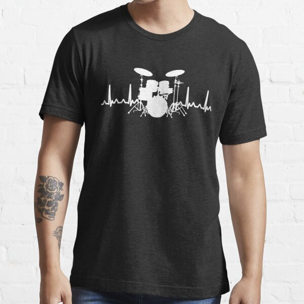 Heart Beat Drummer Essential T-Shirt