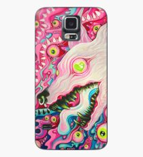 Glitterwolf Acrylic Painting Case/Skin for Samsung Galaxy