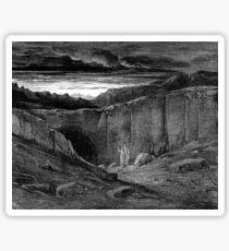 Plate VIII - Dante's Divine Comedy Sticker