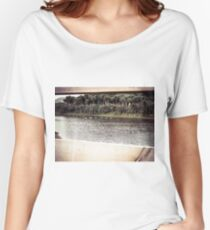 Ducks Through The Fence Women's Relaxed Fit T-Shirt