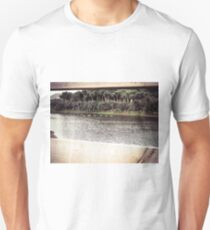 Ducks Through The Fence Unisex T-Shirt