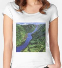 Moselle River Women's Fitted Scoop T-Shirt