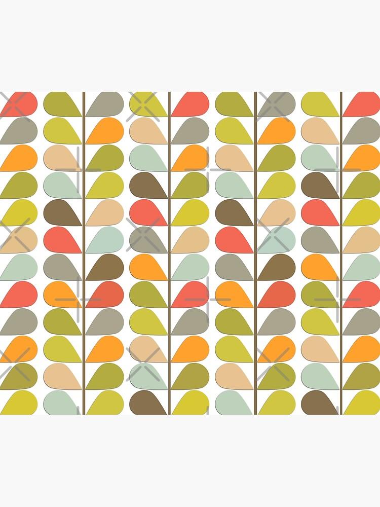Retro 60s Midcentury Modern Pattern by Makanahele