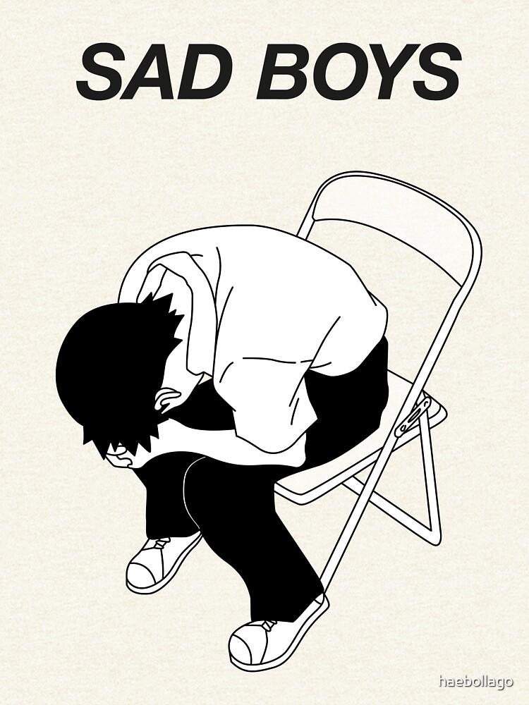 Sad boy by haebollago