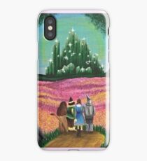 Off to see the wizard iPhone Case/Skin