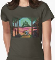 Off to see the wizard Womens Fitted T-Shirt