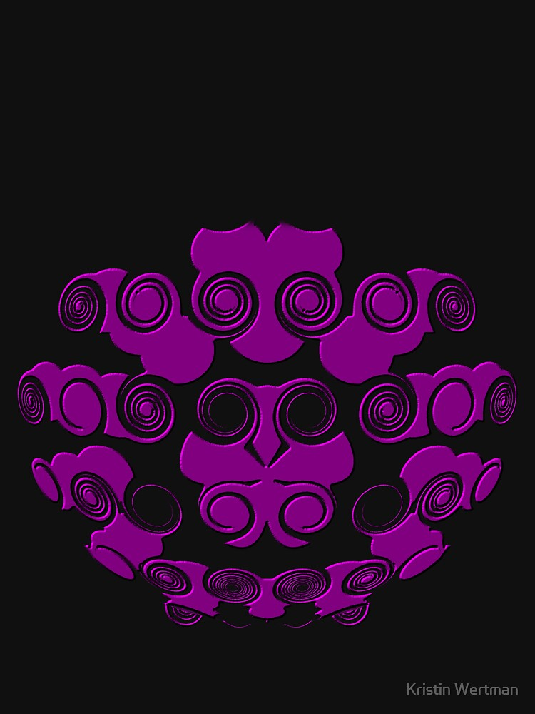 Purple Tee by mystical