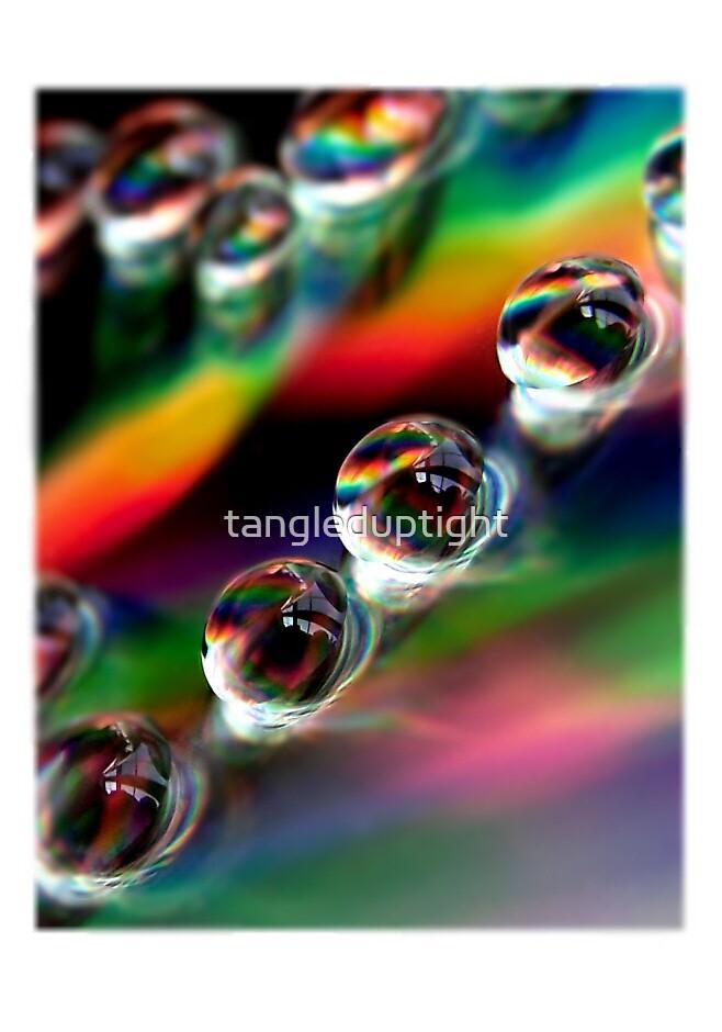 Rainbow in a Drop by tangleduptight