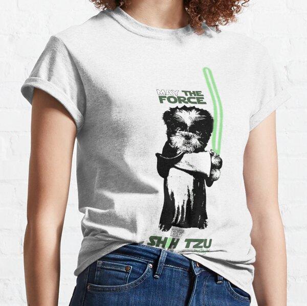 May The Force Be Shih Tzu Classic T-Shirt