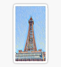 Blackpool tower a Sticker