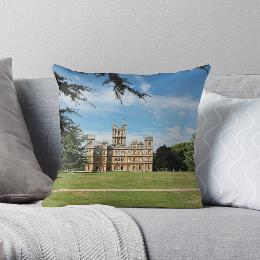 Highclere Castle a.k.a. Downton Abbey Dekokissen