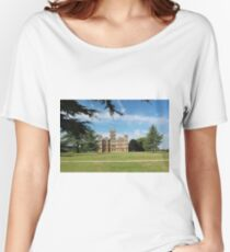 Highclere Castle a.k.a. Downton Abbey Women's Relaxed Fit T-Shirt