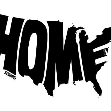 USA Home (black) by seaning