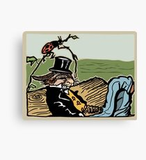 Uncle Wiggily & the Squiggly Bug Canvas Print