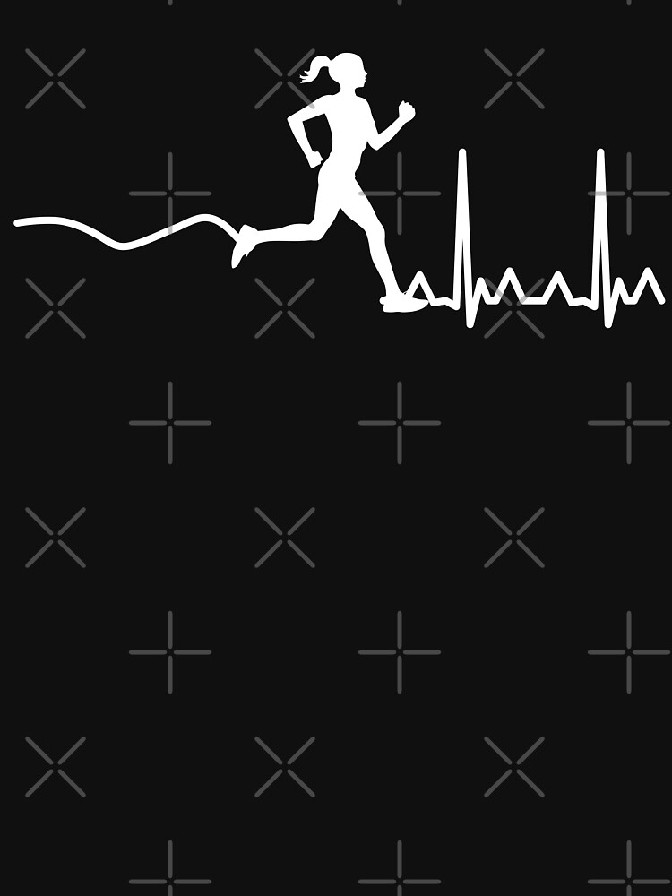 HeartBeat Woman Runner by TheFlying6