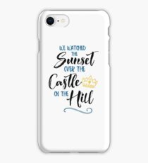 Over The Castle on The Hill iPhone Case/Skin