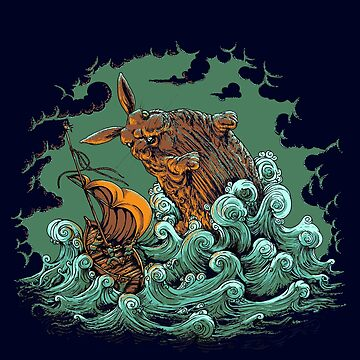 Sea Bunny Attack by halegrafx