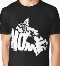 Canada Home (white) Graphic T-Shirt
