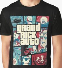 Rick and Morty: Grand Theft Auto Graphic T-Shirt