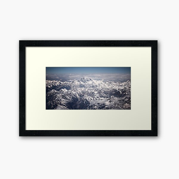 Mount Everest Framed Art Print