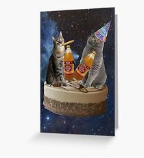 Geburtstagsknospen Grußkarte