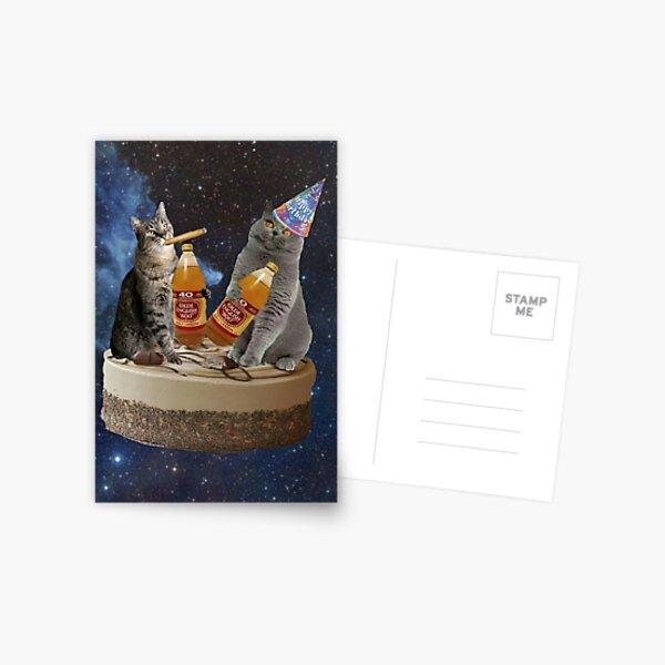 birthday buds Postcard
